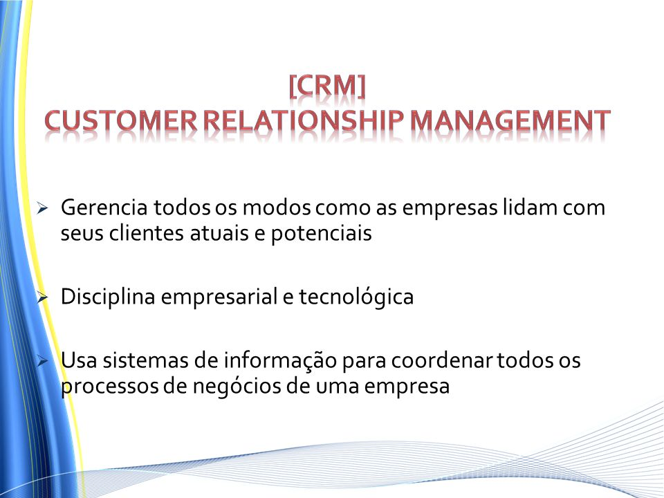 [CRM] Customer Relationship Management
